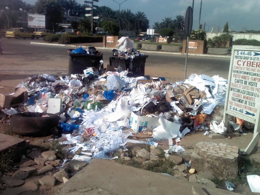 L'une des principales artères de la capitale Abidjanaise